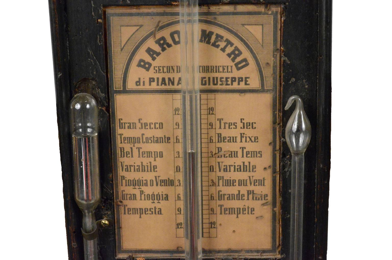 Barometri antichi/498A-Barometro Piana