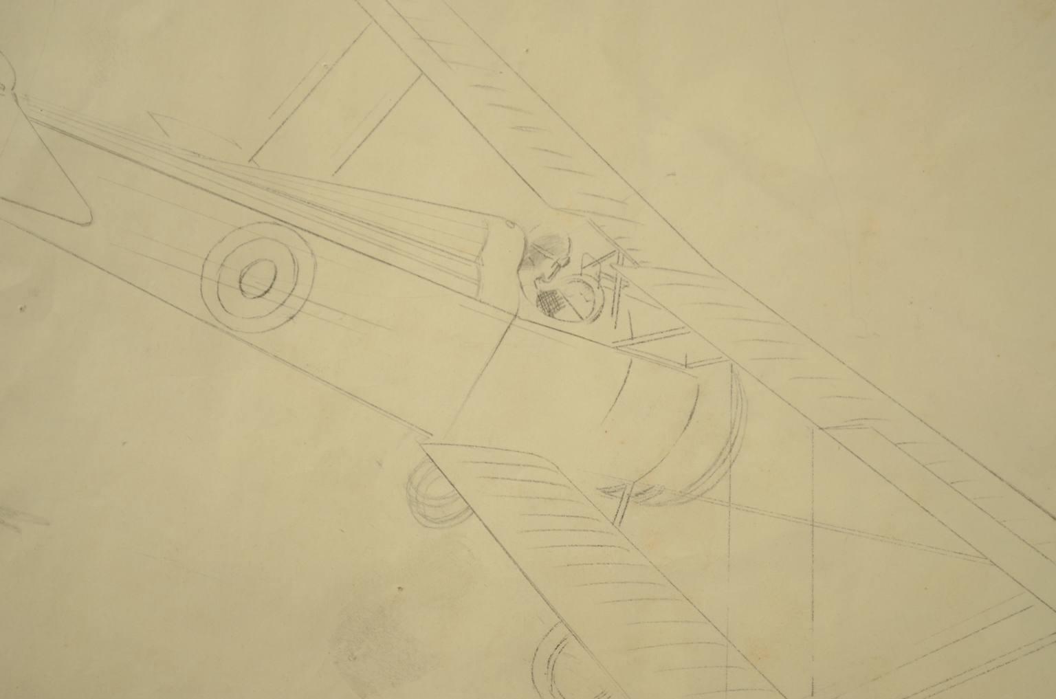 旧时的飞机/178-Hanriot Albatros