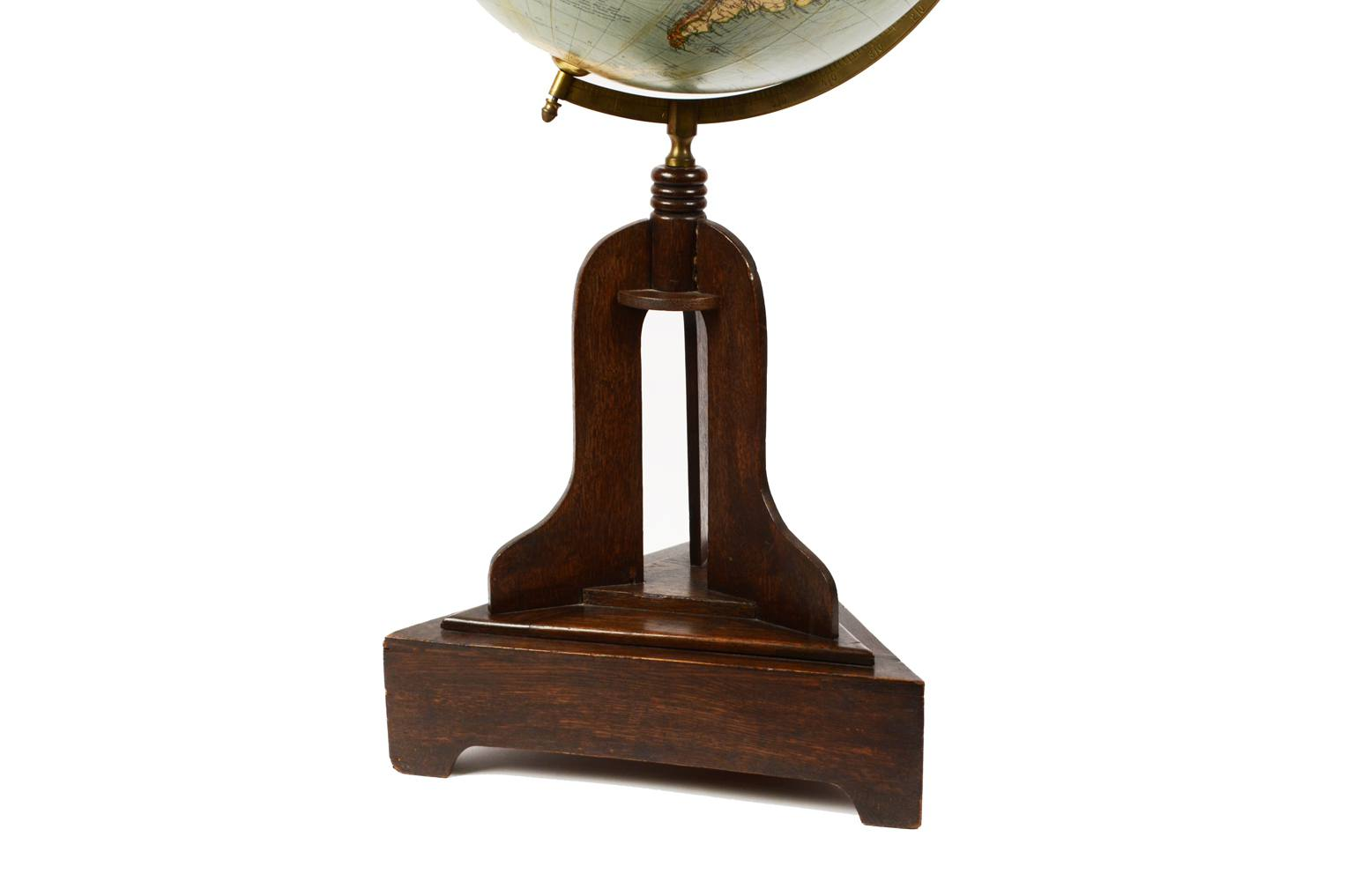Globi-mappamondi antichi/1795-Globo Columbus 1920