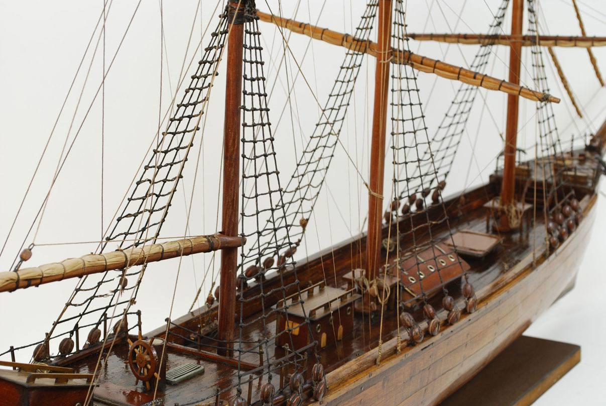 Modelli di navi d'epoca/2-Brigantino antico