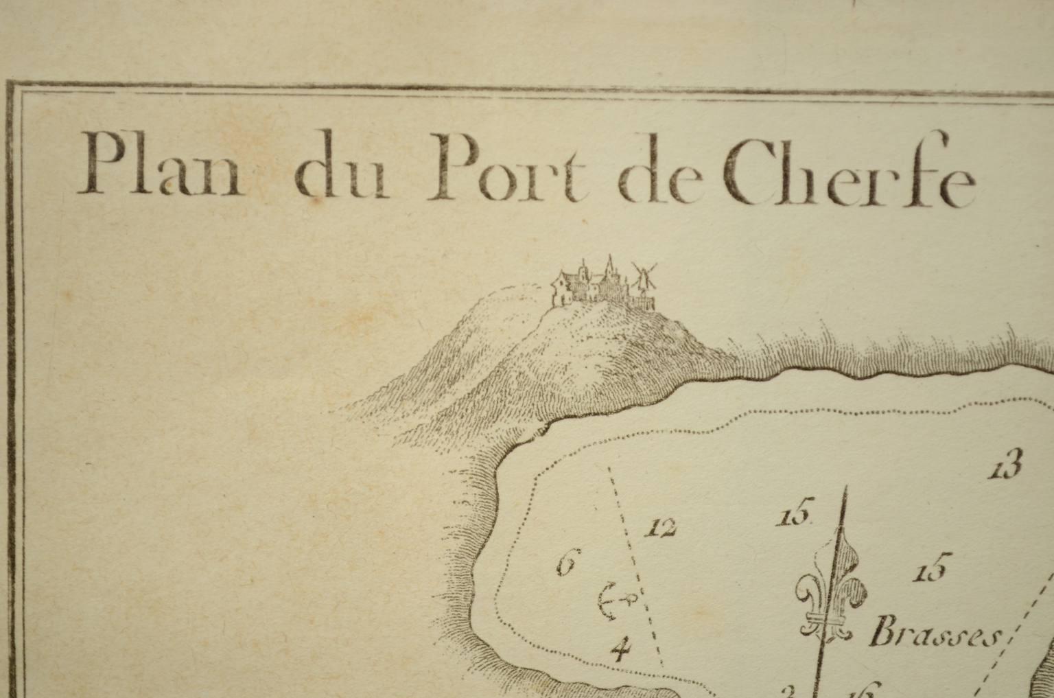 航海类古董/2507-航海图1844