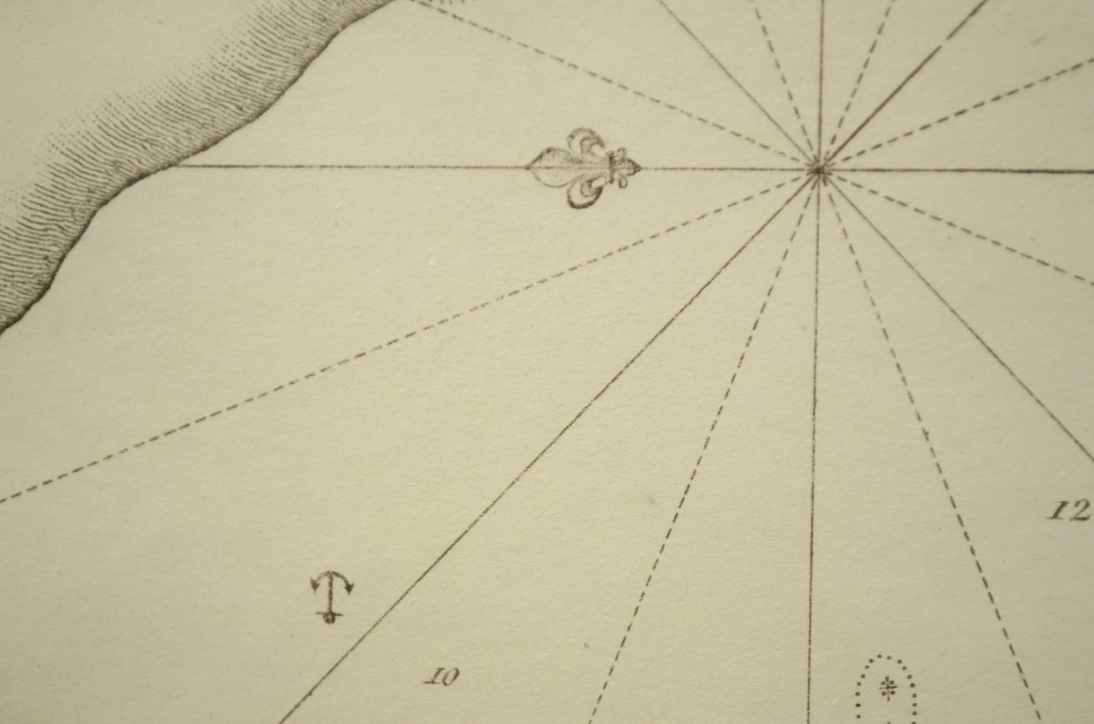 Antiquariato nautico/2517-Port De Chichimé Natolie