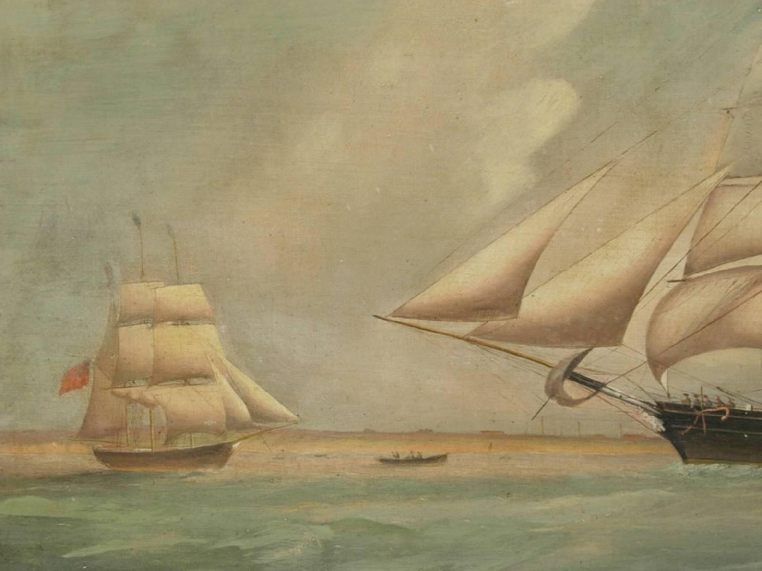 Antiquariato nautico/2522-Olio su tela