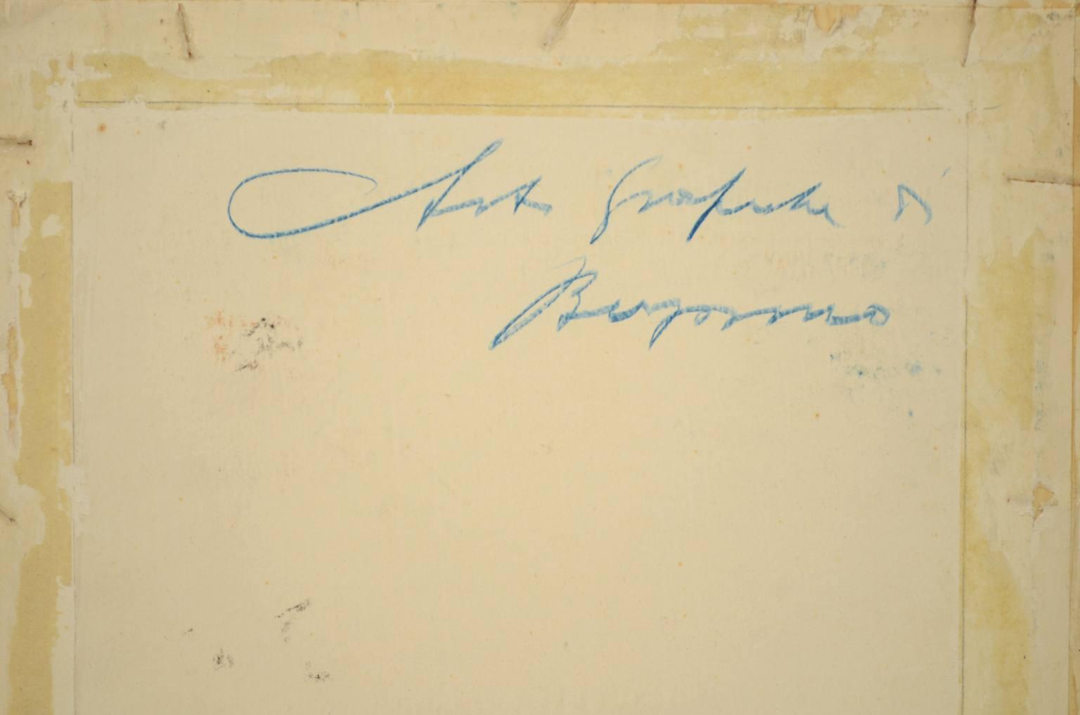 Strumenti medici d'epoca/2566-Bozzetto futurismo 1930