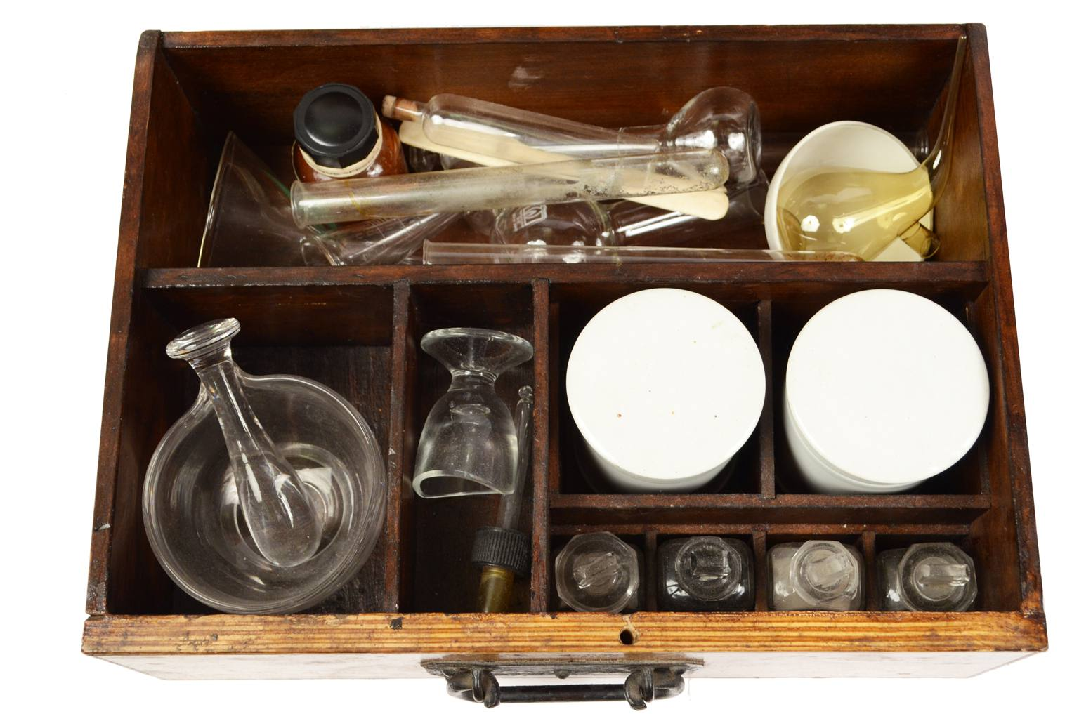 Strumenti medici d'epoca/538A-Farmacia di bordo XIX s
