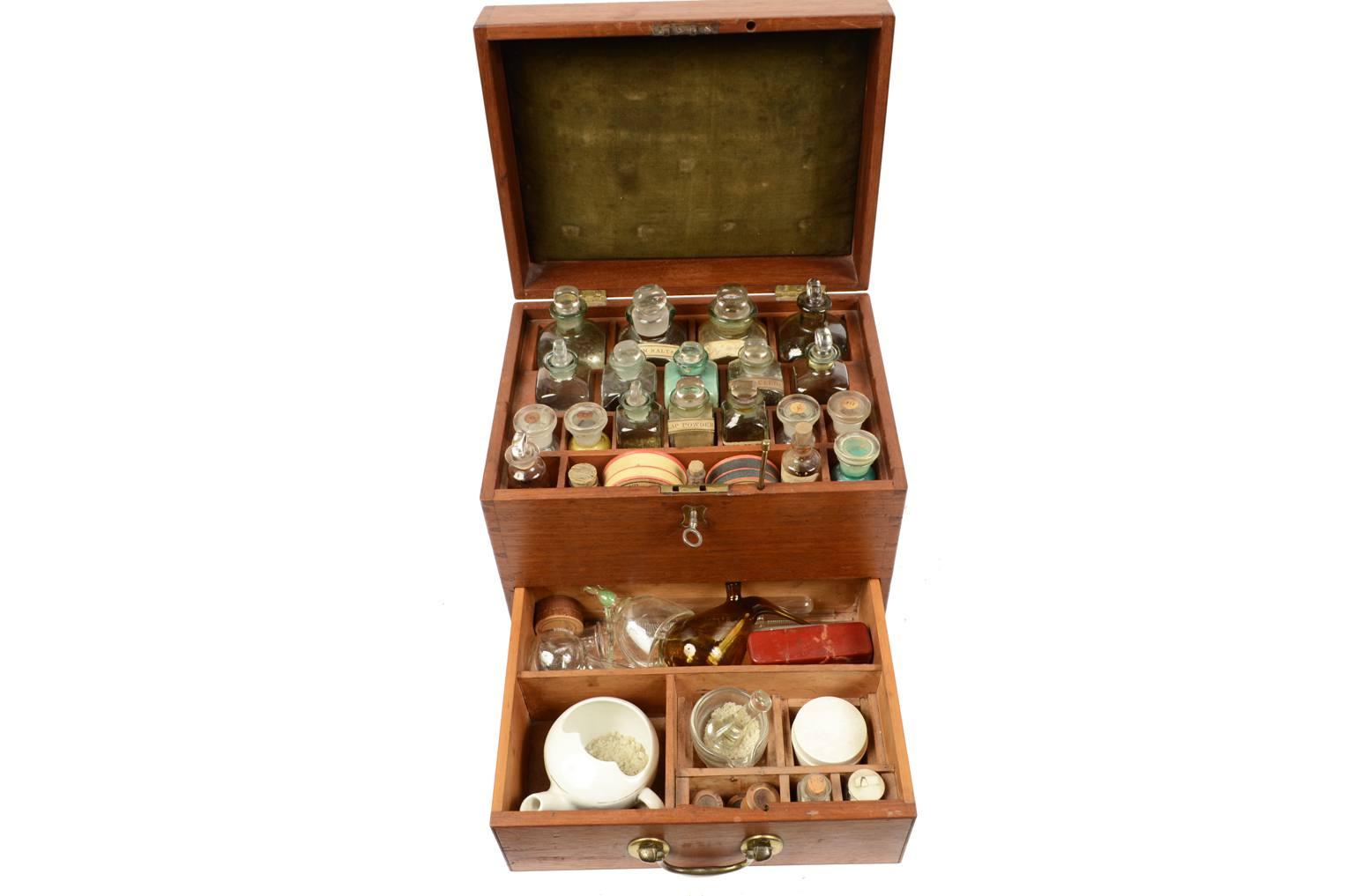 古医疗器具/2686-19世纪医药用具包