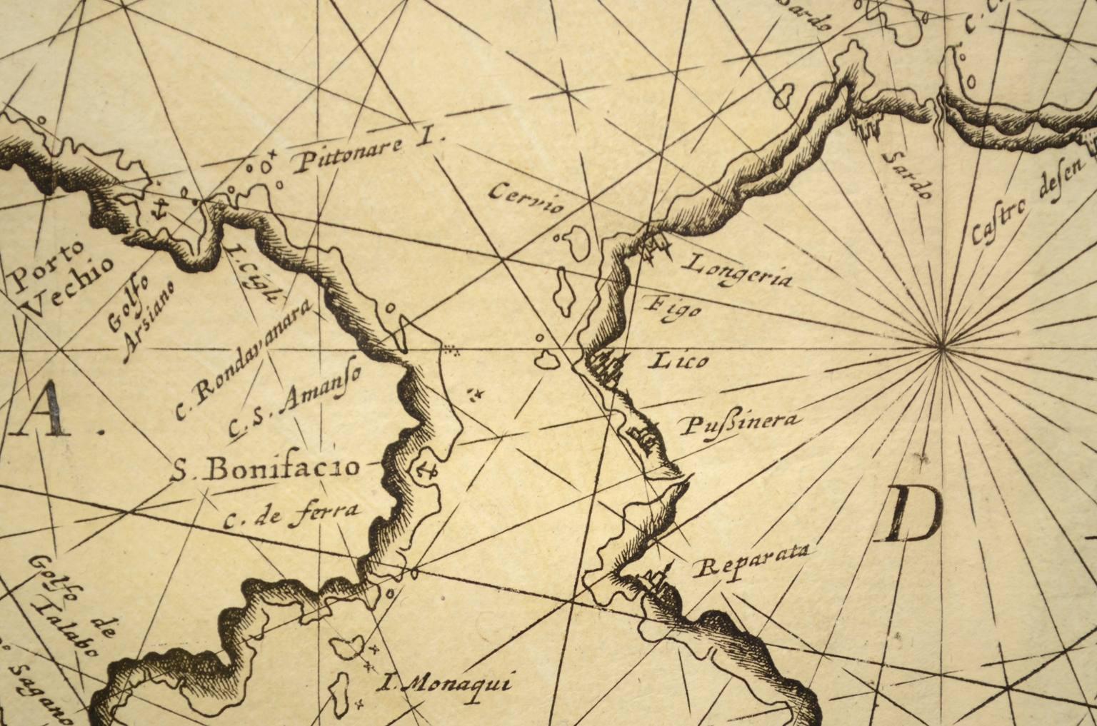 Antiquariato nautico/3047-Carta nautica antica