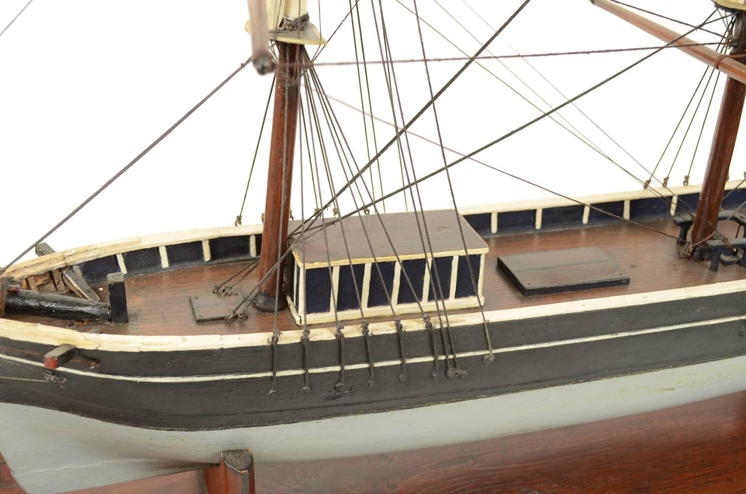 舰船模型/3077A-双桅帆船模型