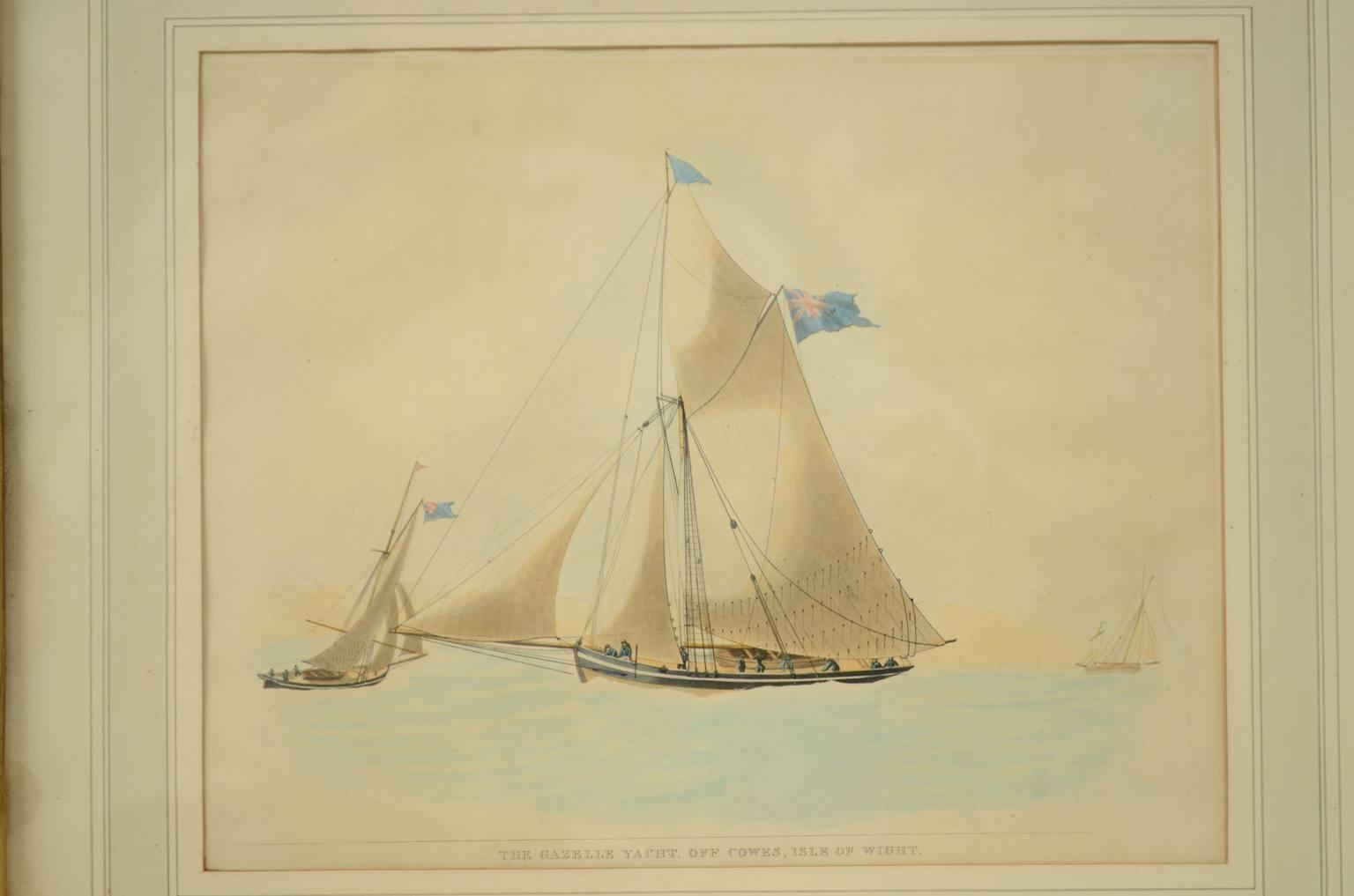 Antiquariato nautico/3588A-Deliziosa gouache