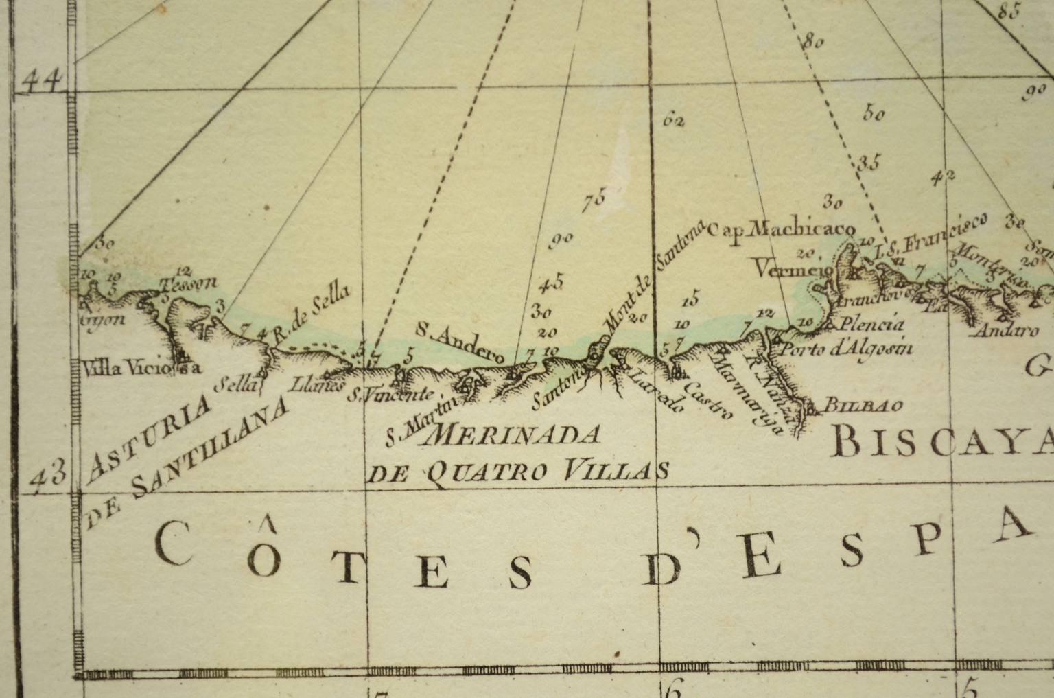 Antiquariato nautico/4028-Carta nautica