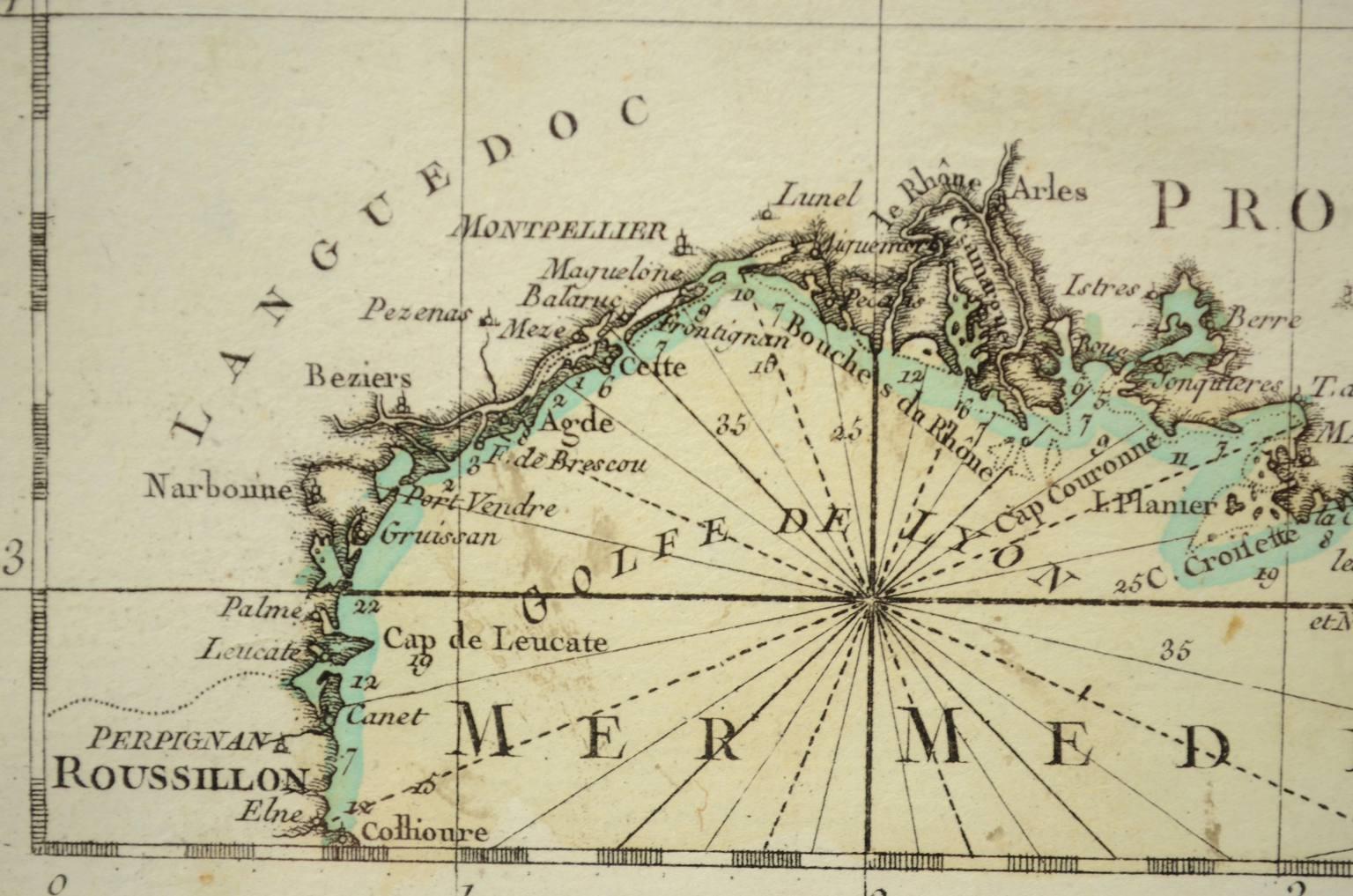 Antiquariato nautico/4029-Carta nautica