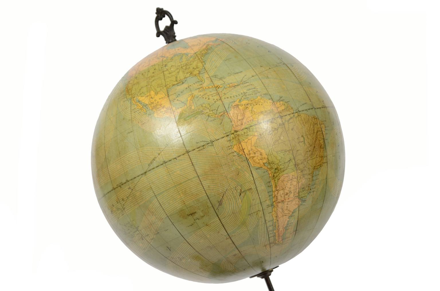 Globi-mappamondi antichi/4137-Globo Girard e Boitte