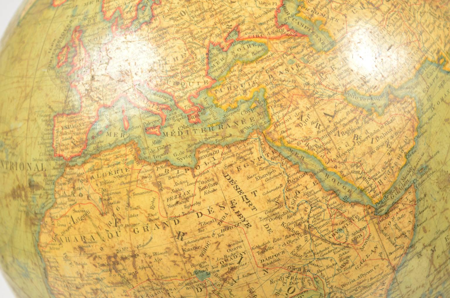 Globi-mappamondi antichi/4137A-Globo Lebegue