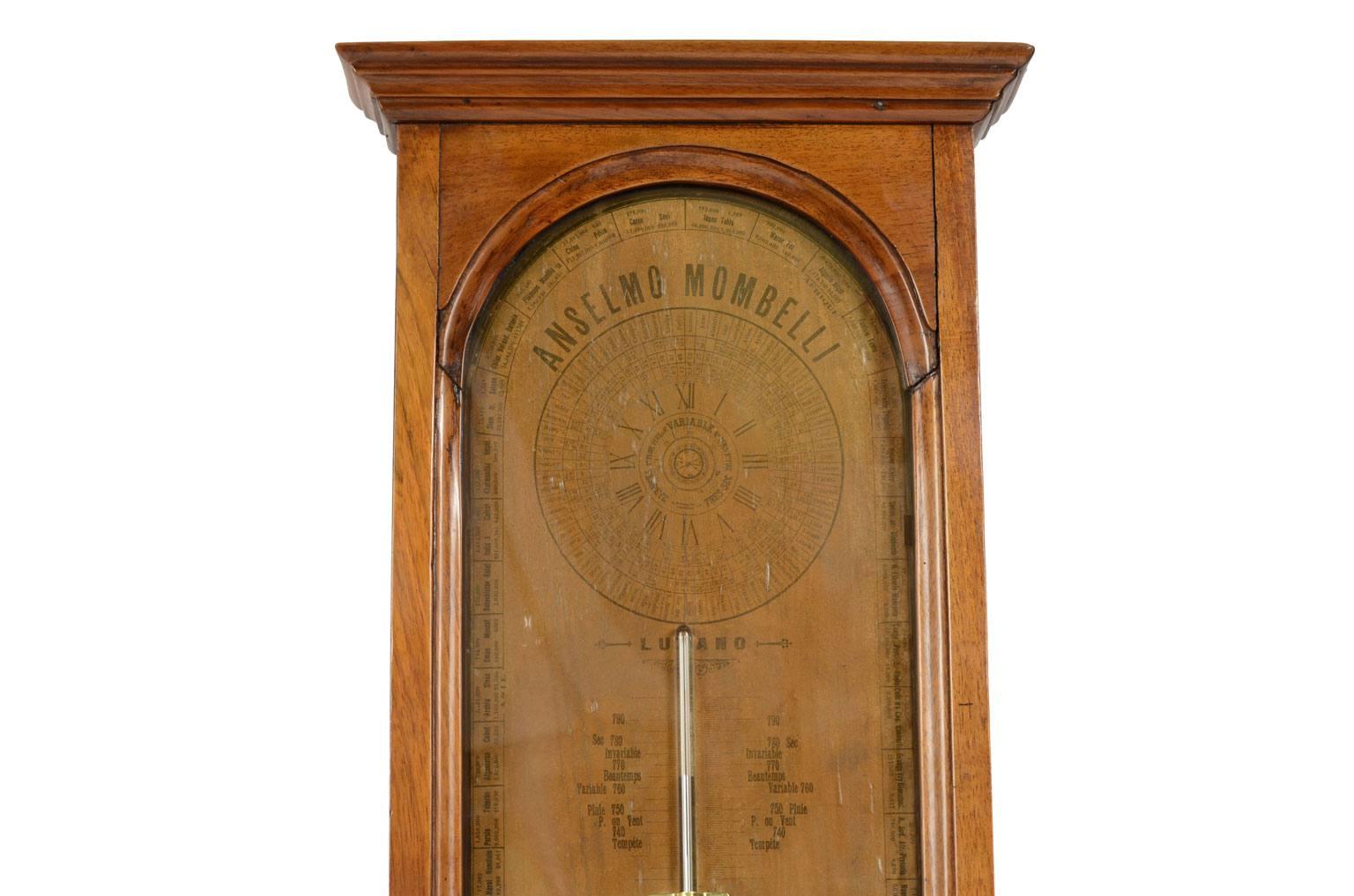 古色古香的晴雨表/4267-Mombelli 气压计