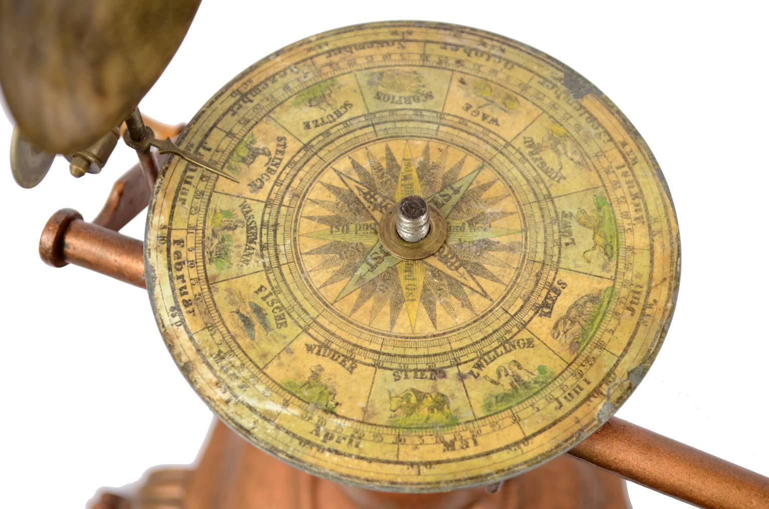 Strumenti astronomici antichi/457A-Planetario Felkl