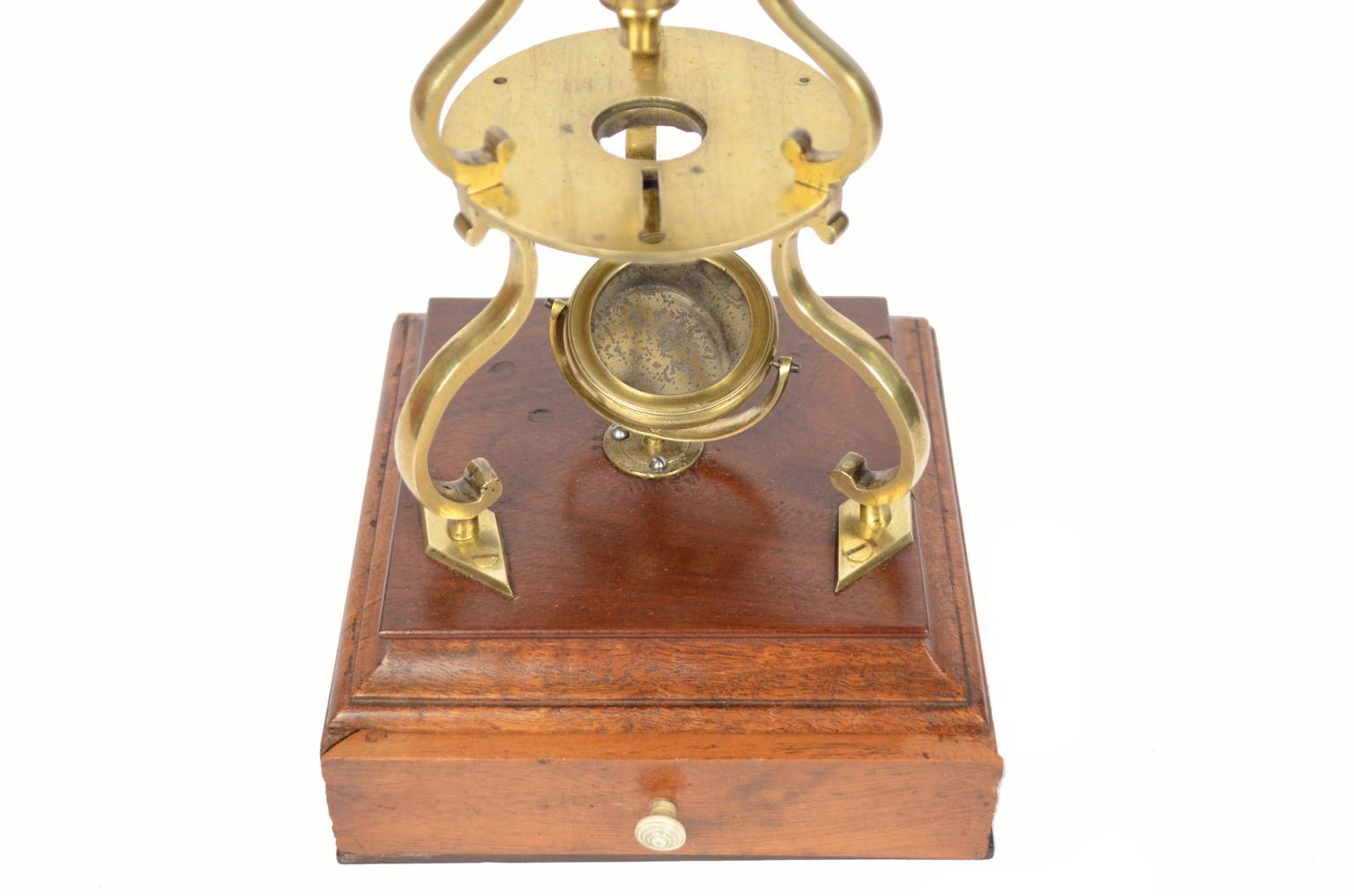 Strumenti medici d'epoca/473A-Antico microscopio