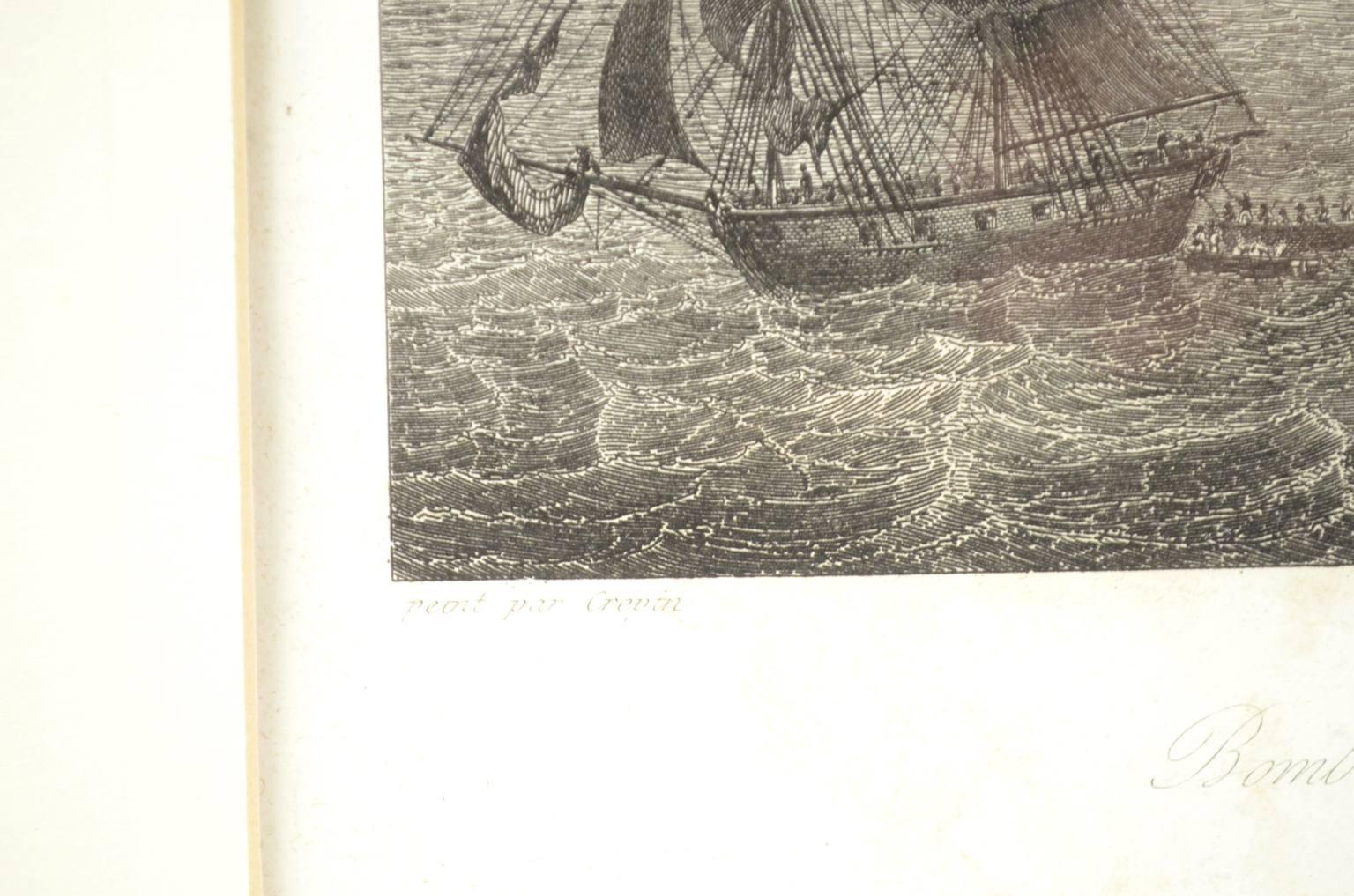 Antiquariato nautico/4759A-Stampa Cadice 1823