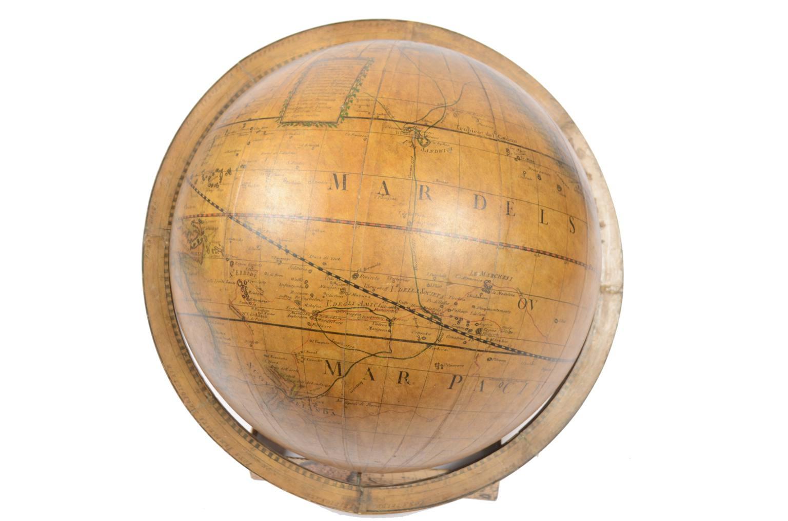 Globi-mappamondi antichi/477A-Globo antico Cassini
