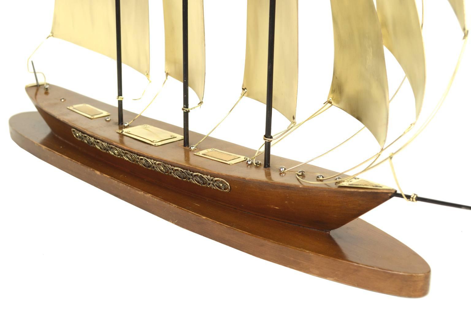 Modelli di navi d'epoca/5046-Modello ottone