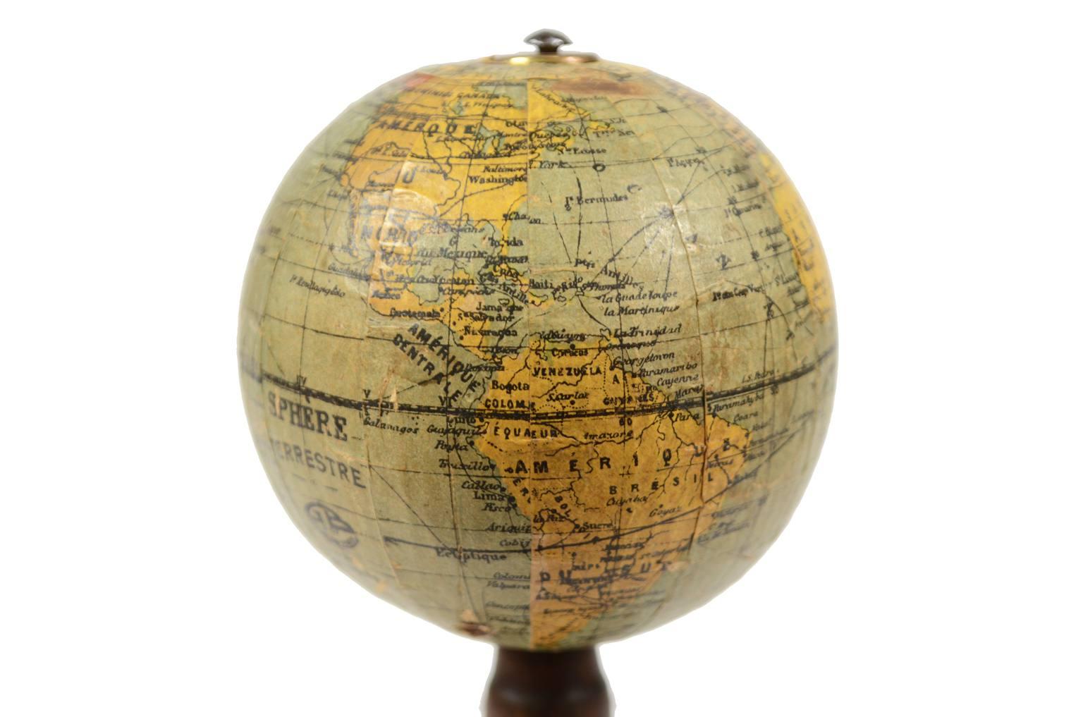 Globi-mappamondi antichi/5355-Globo francese