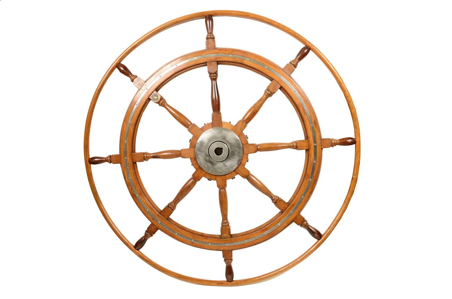 Antiquariato nautico/5363b-Grande timone