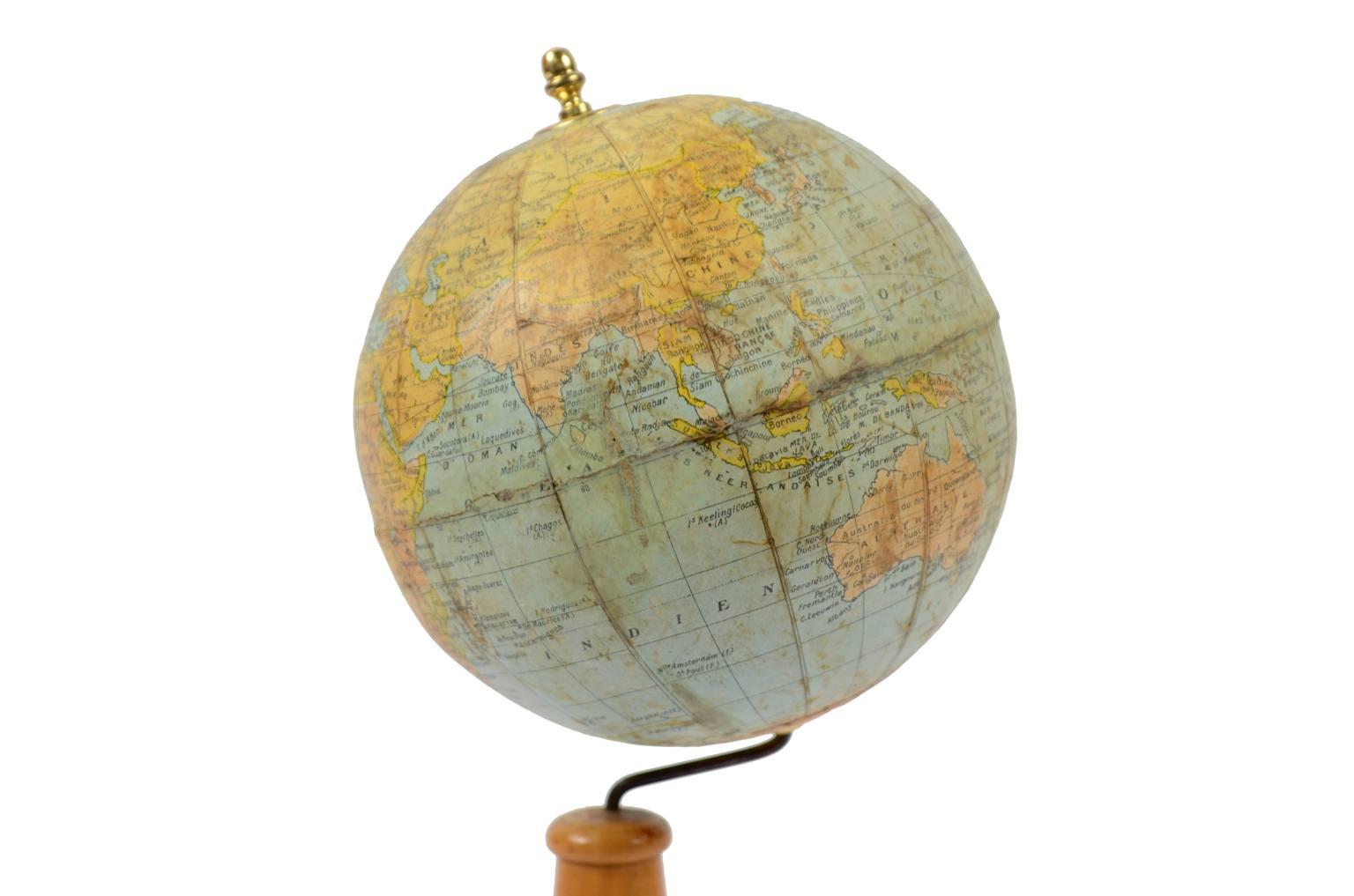Globi-mappamondi antichi/5387-Globo antico Thomas