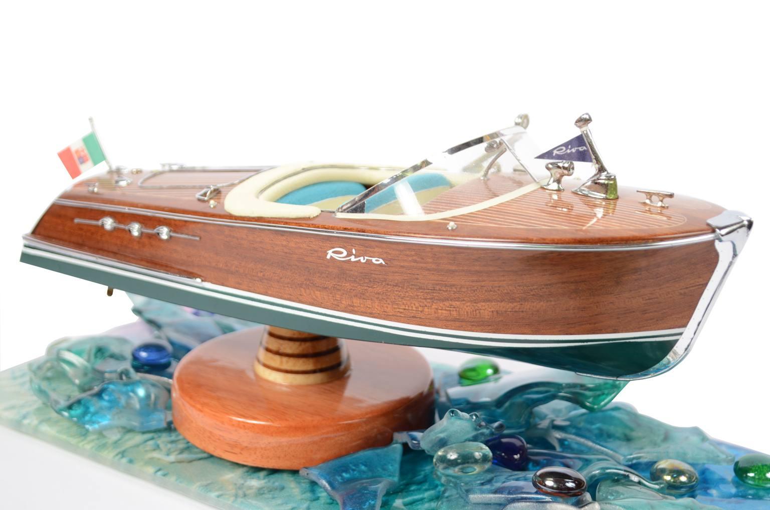 Modelli di navi d'epoca/5390A-Modellino Riva Ariston