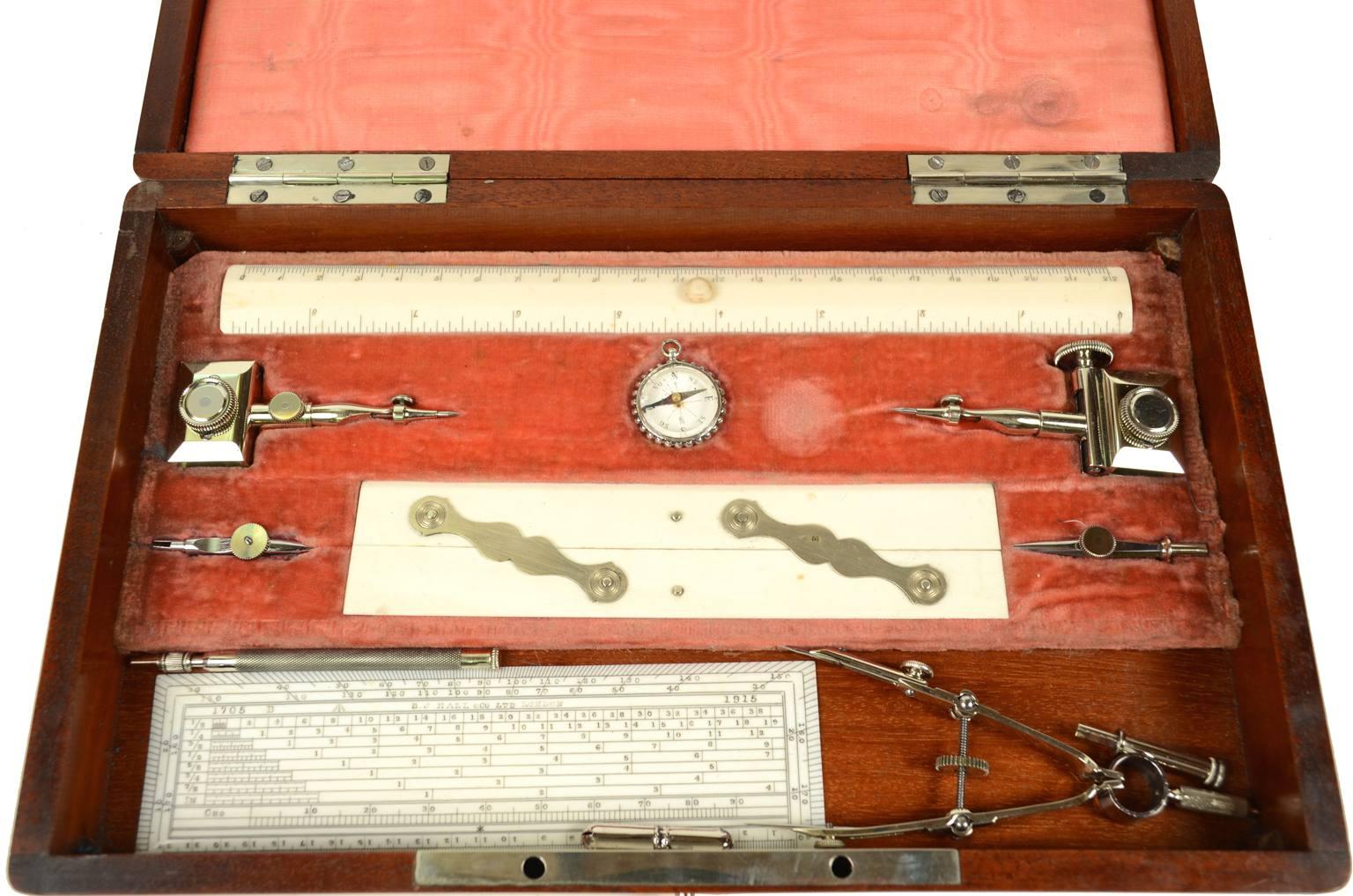 Antiquariato nautico/5403-Scatola di compassi