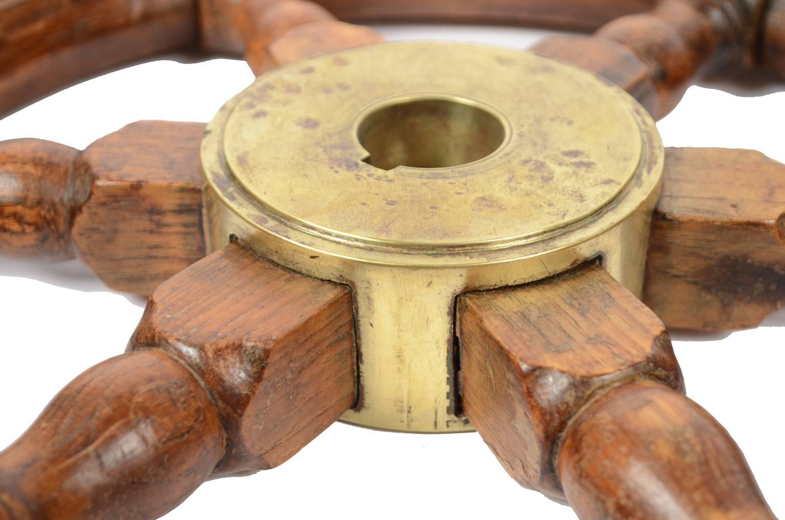 Antiquariato nautico/5484-Antico timone