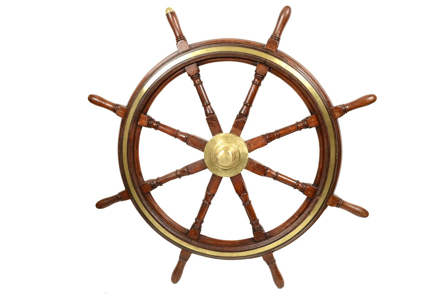 Antiquariato nautico/5485-Grande timone