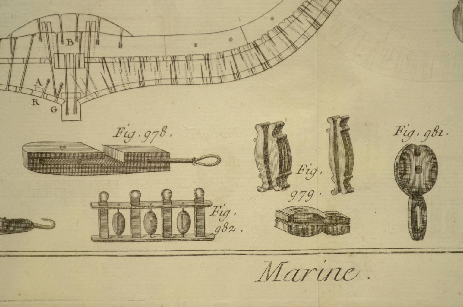Antiquariato nautico/5691-Stampa Panckoucke