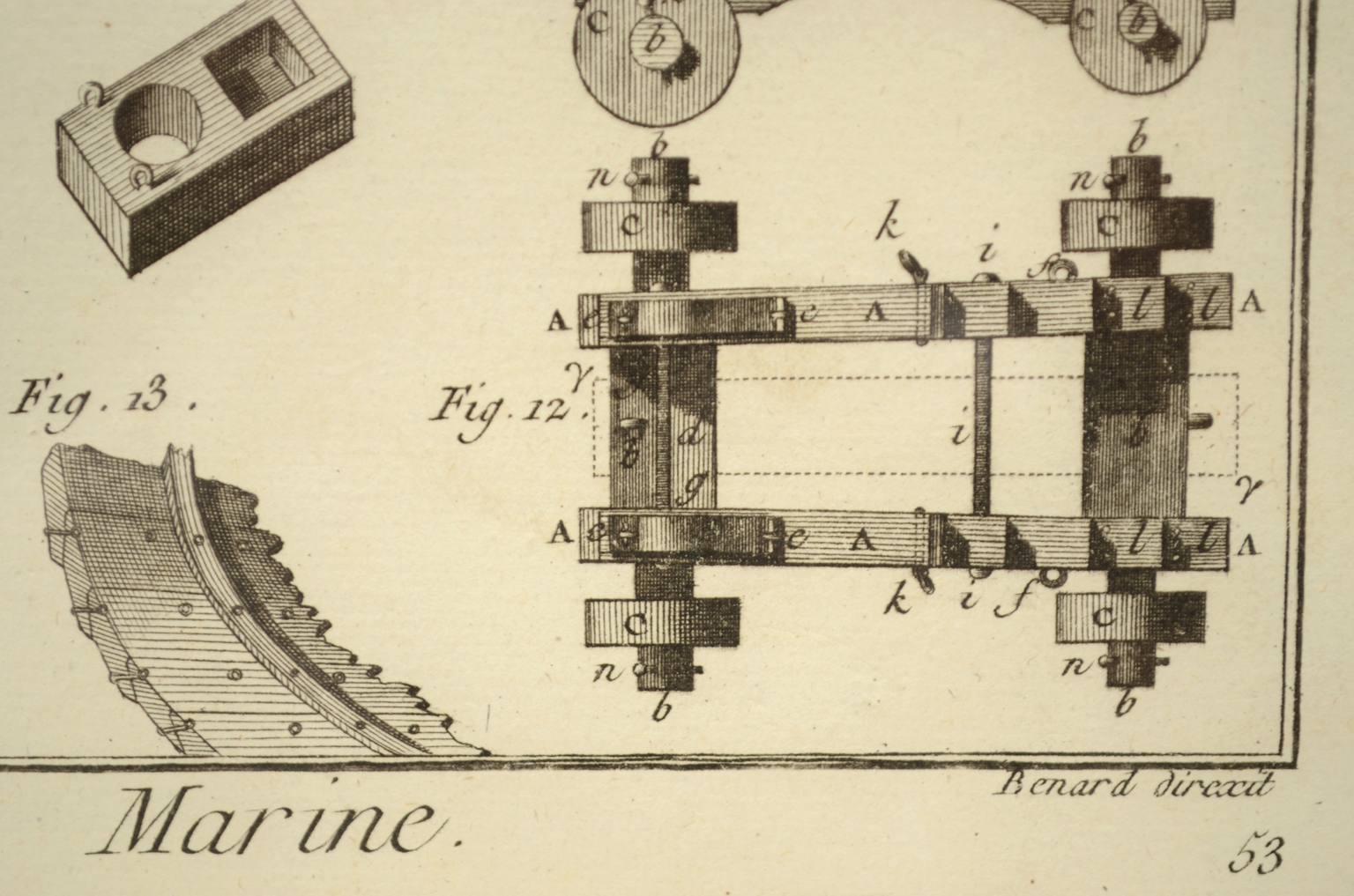 Antiquariato nautico/5692-Stampa Panckoucke