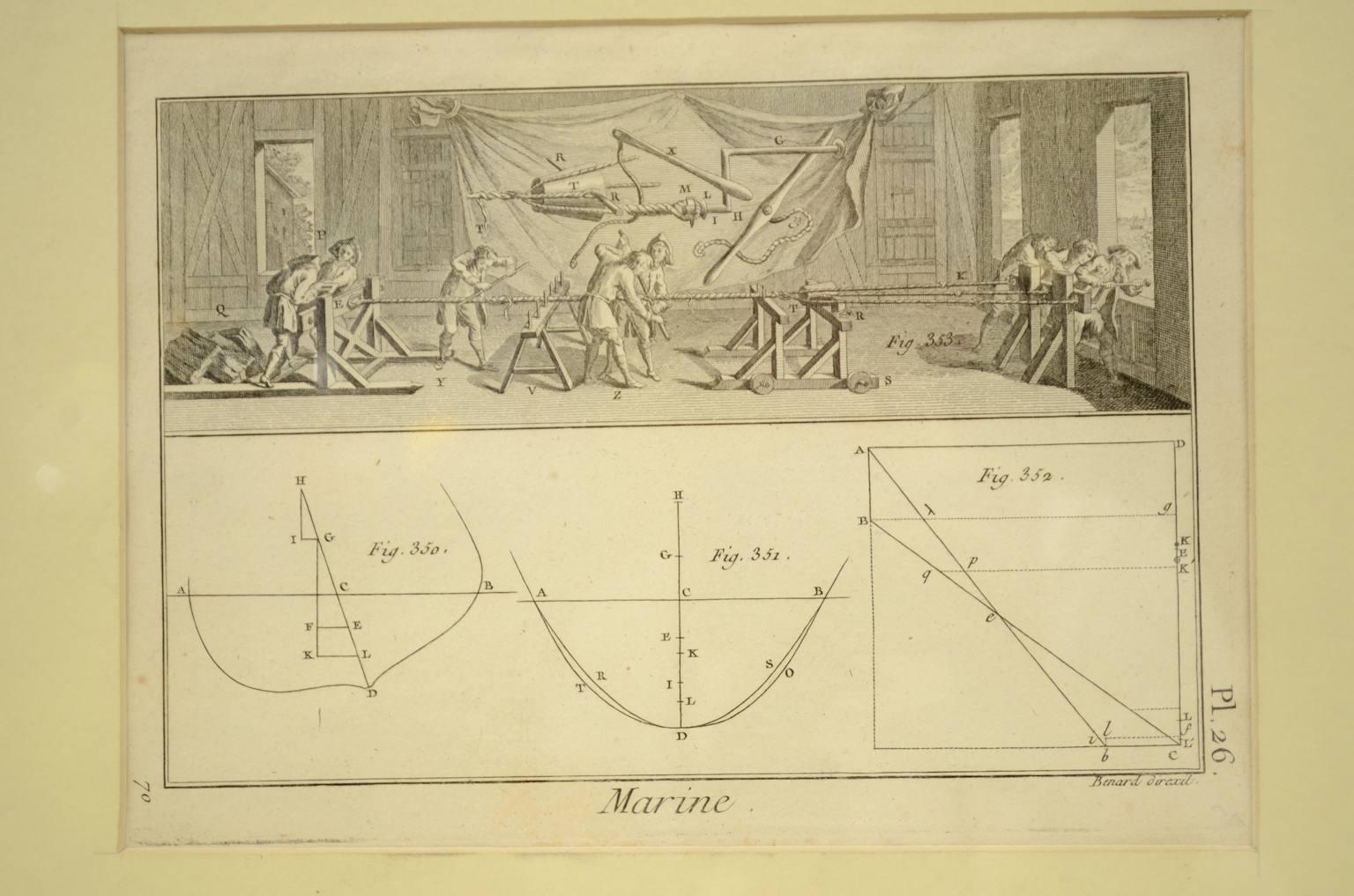 Antiquariato nautico/5694A-Stampa Panckoucke