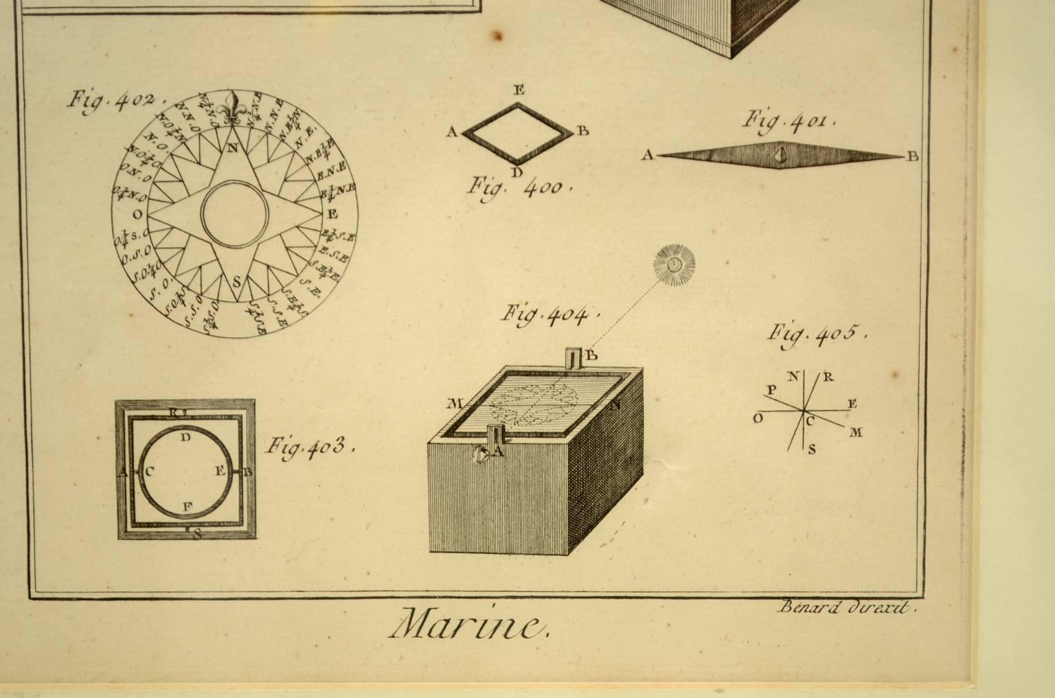 Antiquariato nautico/5695-Stampa Panckoucke