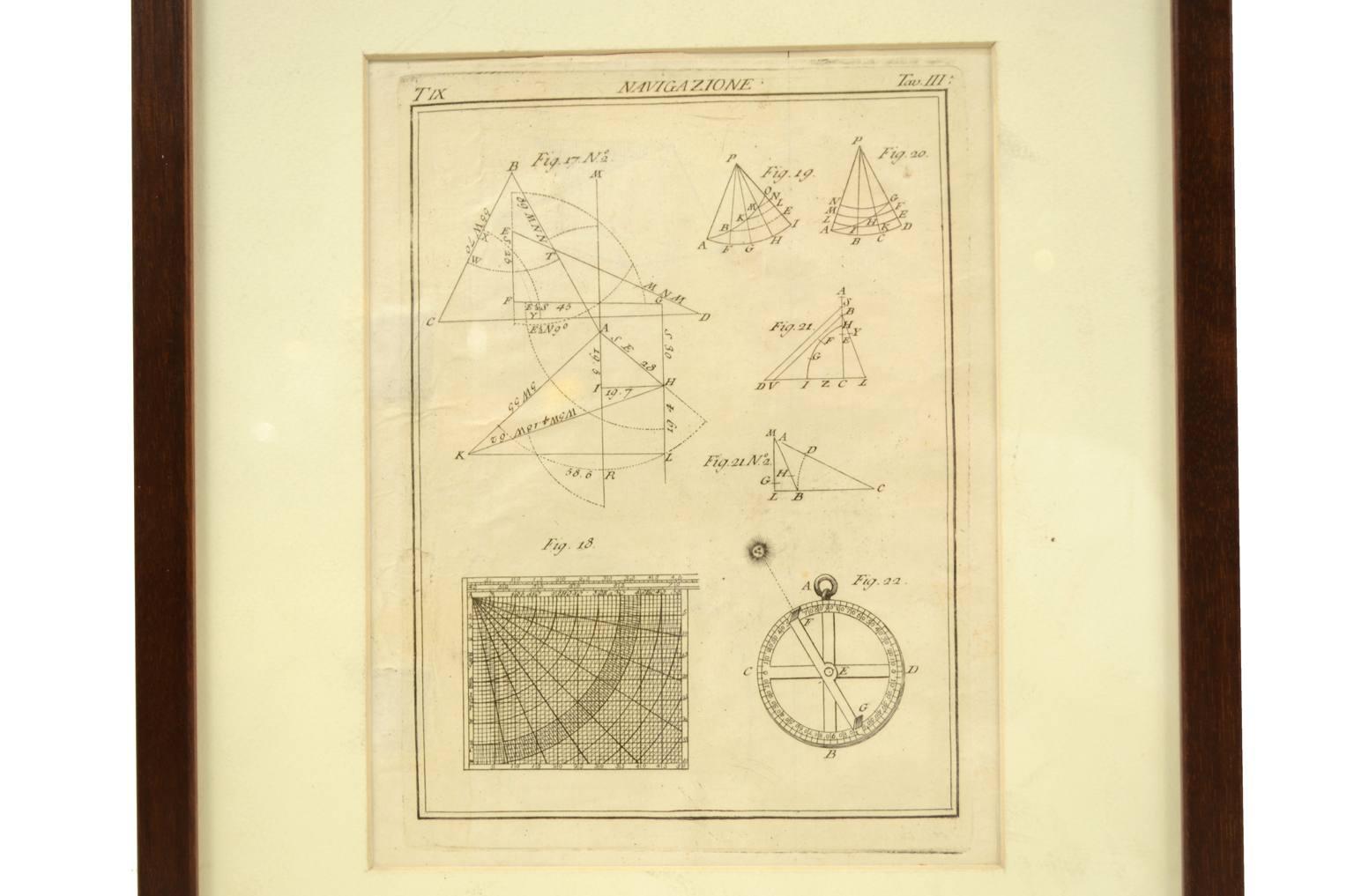Antiquariato nautico/5697-Stampa antica