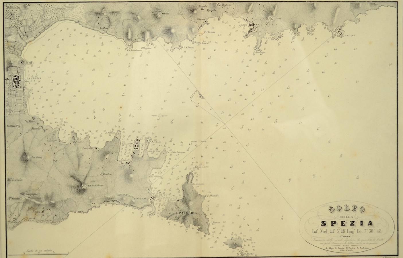 航海类古董/5698a-拉斯佩齐亚湾