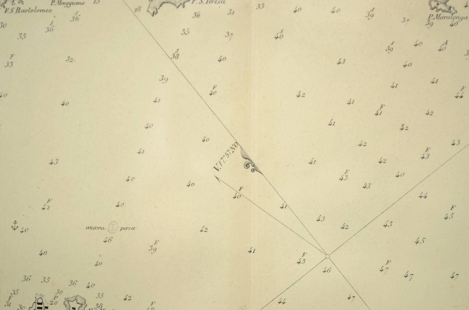Antiquariato nautico/5698a-Golfo Della Spezia
