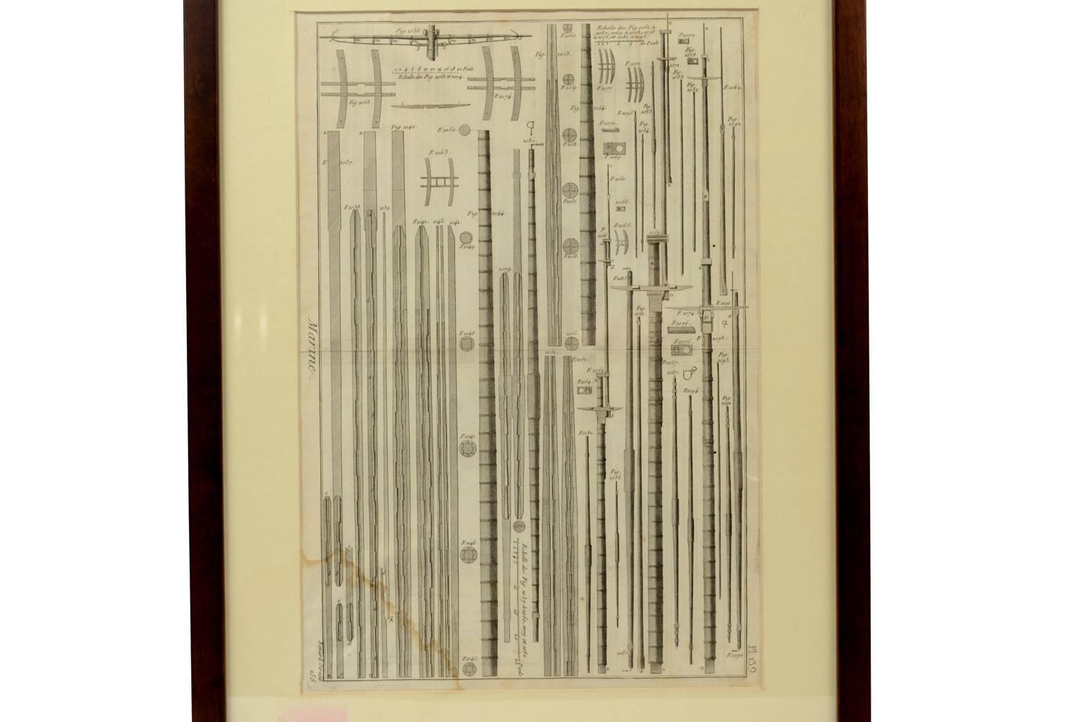 Antiquariato nautico/5702-Stampa Panckoucke
