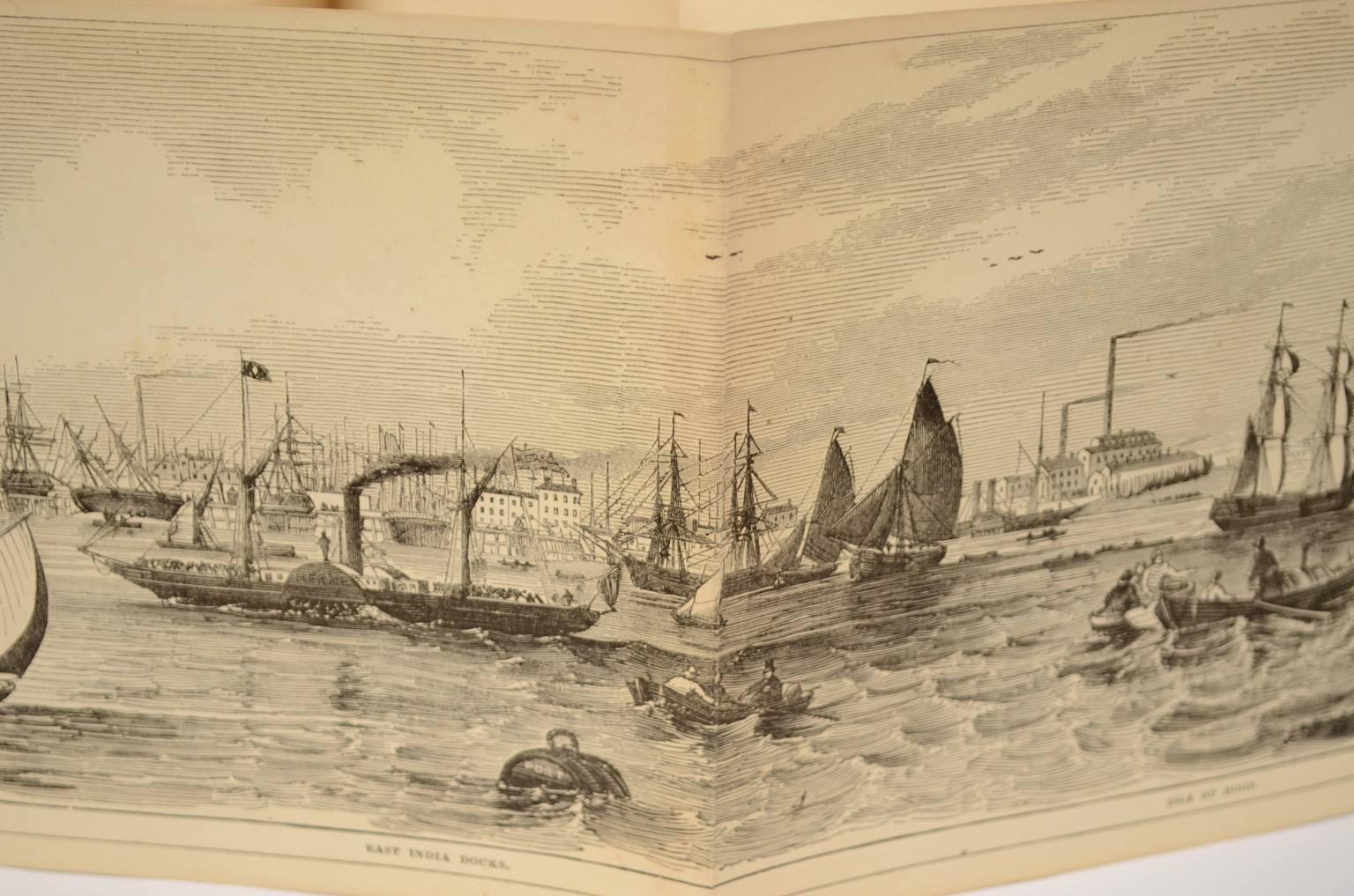 Antiquariato nautico/5703A-Grand Panorama of London