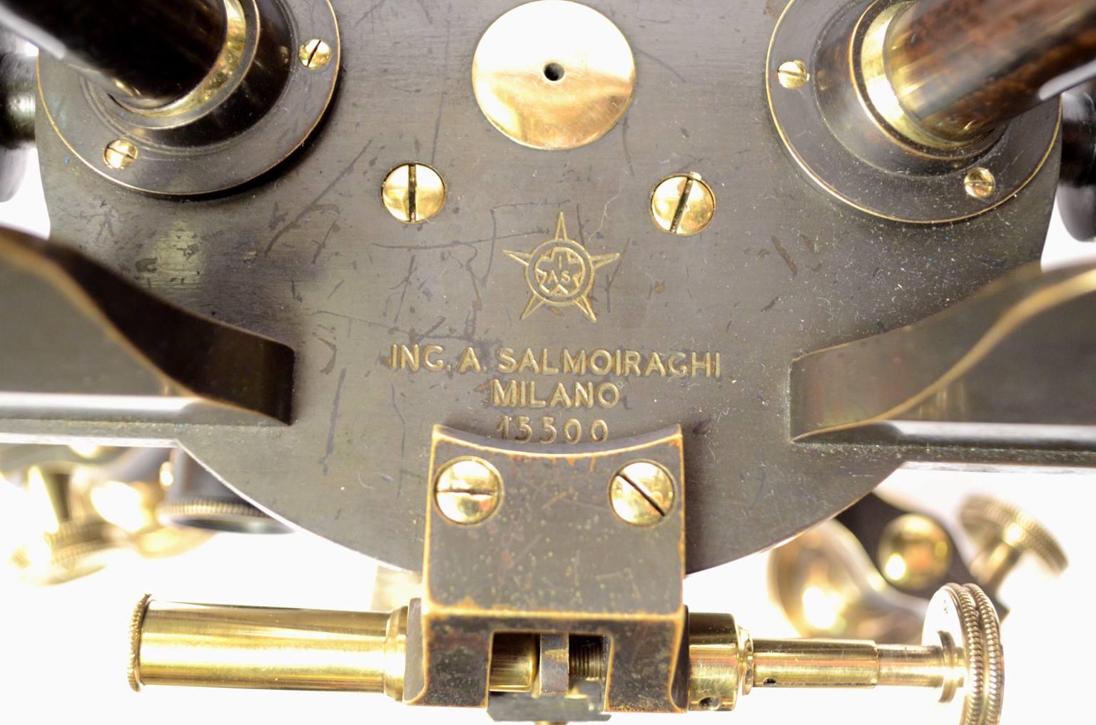 Strumenti di misura antichi/5782-Tacheometro Salmoiraghi