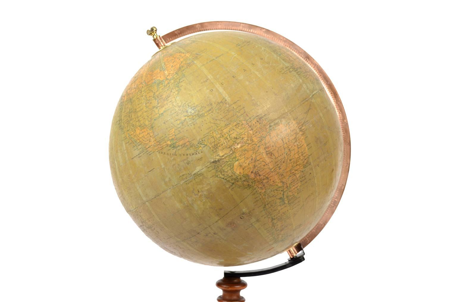 Globi-mappamondi antichi/5785-Globo antico Vallardi