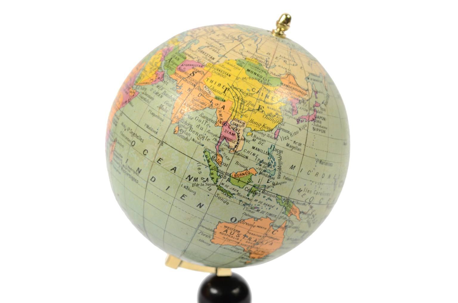 Globi-mappamondi antichi/5799-Globo francese