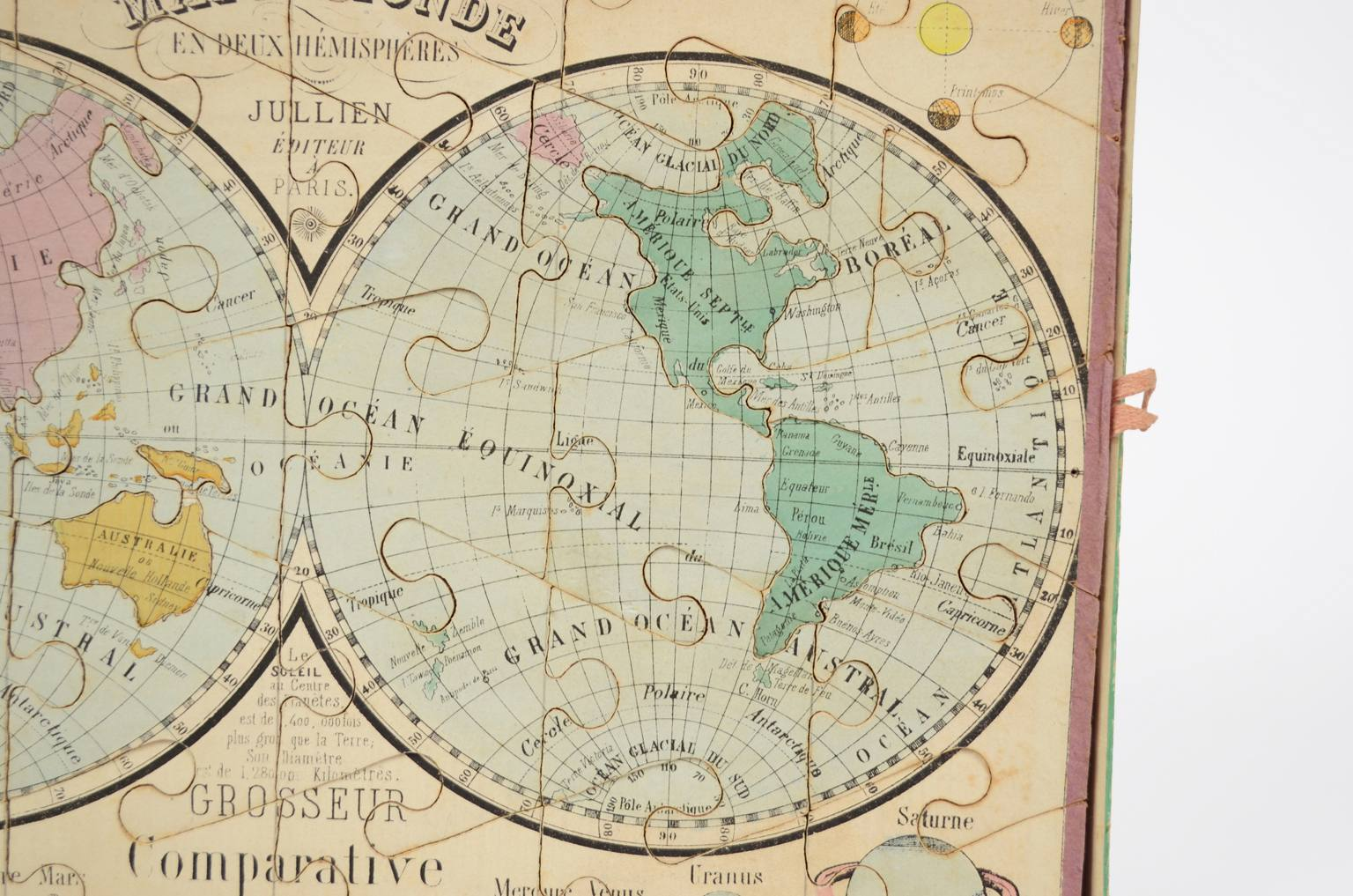 Globi-mappamondi antichi/6337-Puzzle mappamondo
