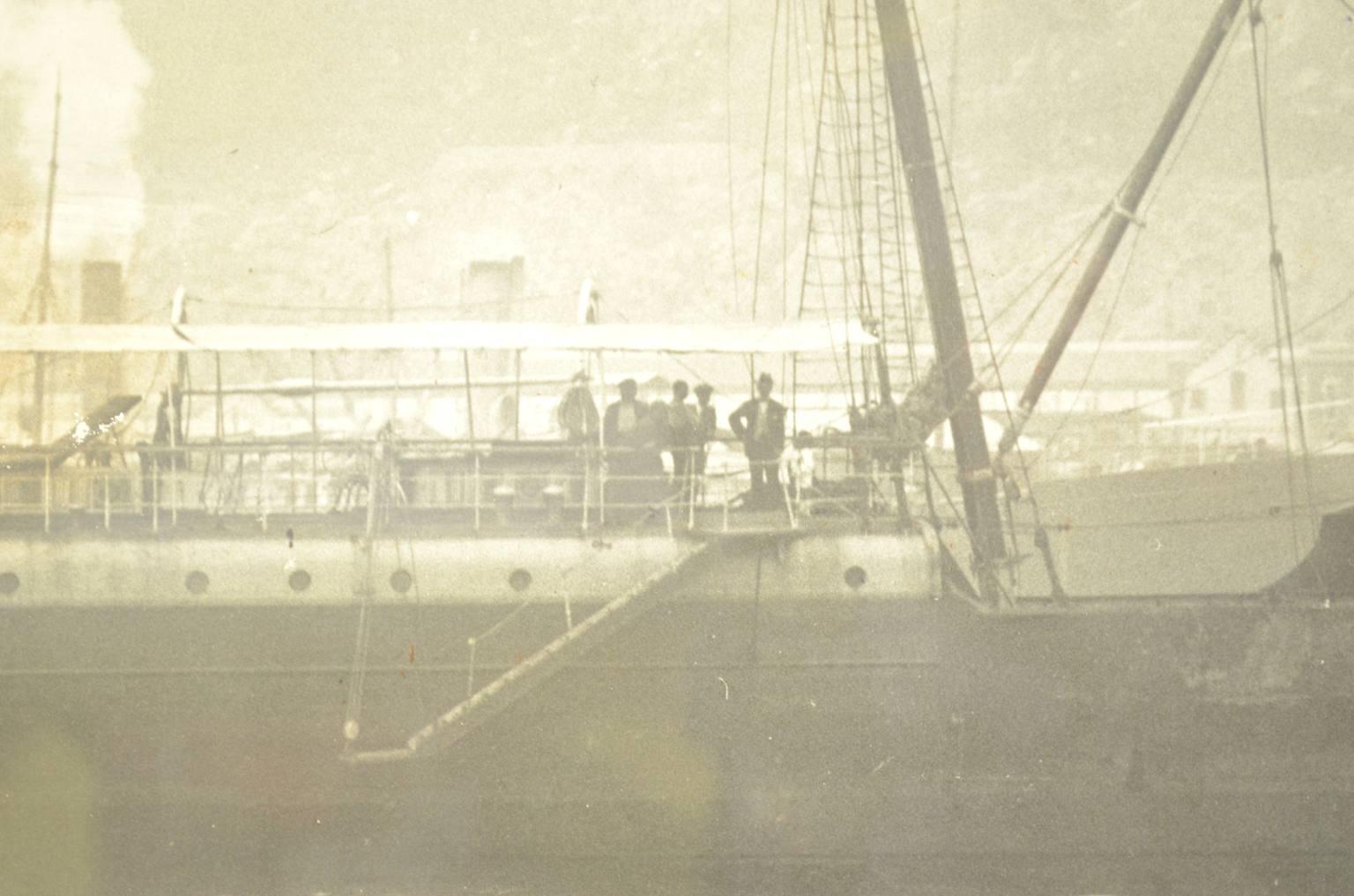航海类古董/6035-大黑白历史图片