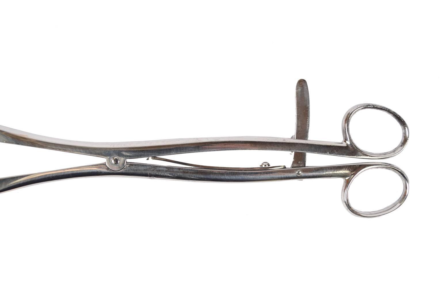 Strumenti medici d'epoca/6068A-Pinza emostatica