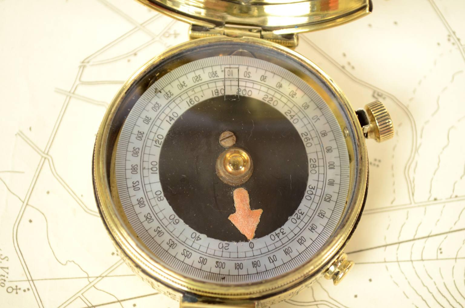 Bussole antiche/60787-Bussola prismatica epoca