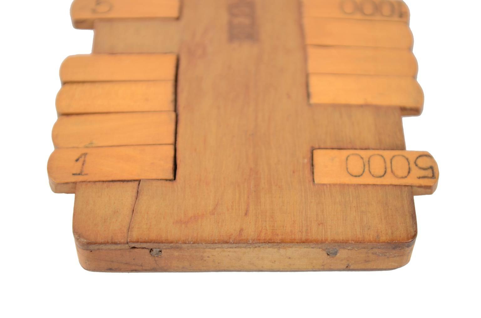 Strumenti di misura antichi/60789-Antico segnapunti