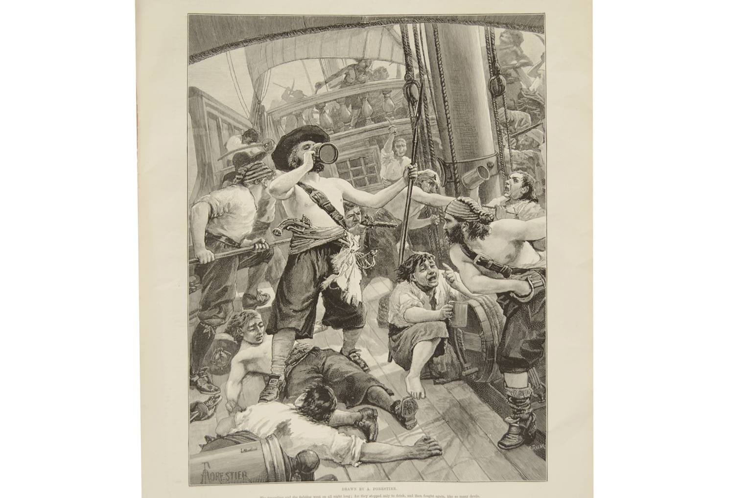Antiquariato nautico/6088-Illustrazione pirati