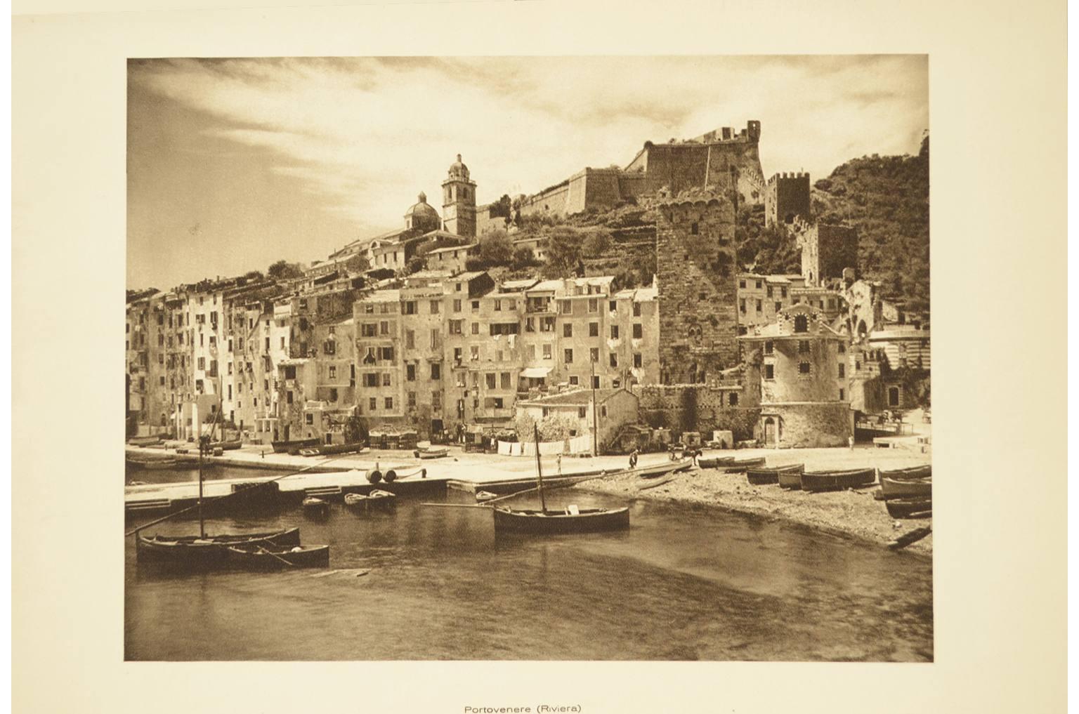 Antiquariato nautico/6089-Litografia Portovenere