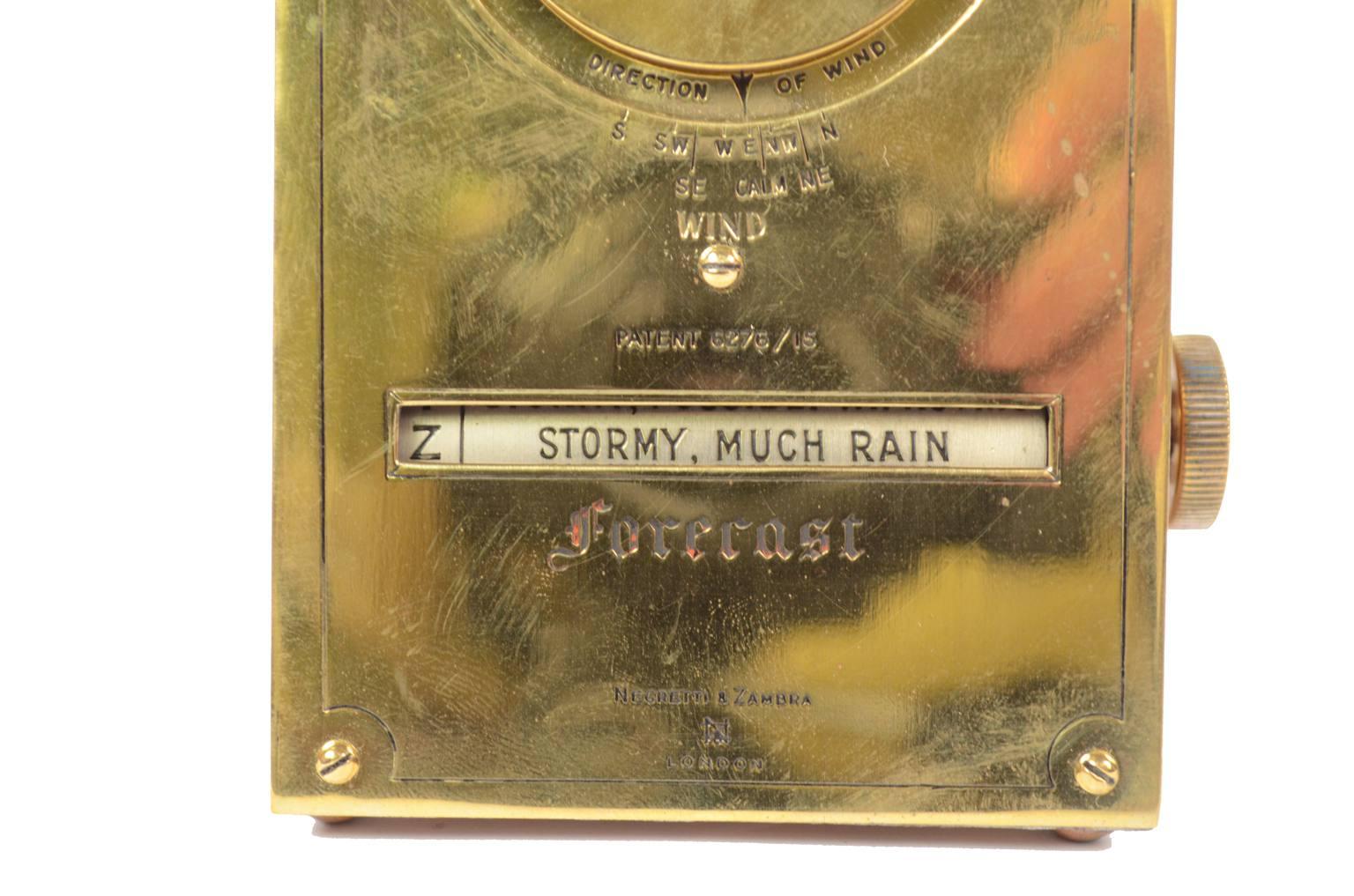 古色古香的晴雨表/61051-造的仪器用于预测天气